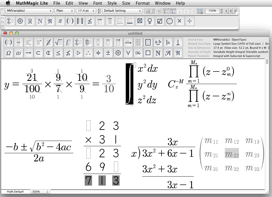 Mathmagic Lite The Best Free Equation Editor On The Planet