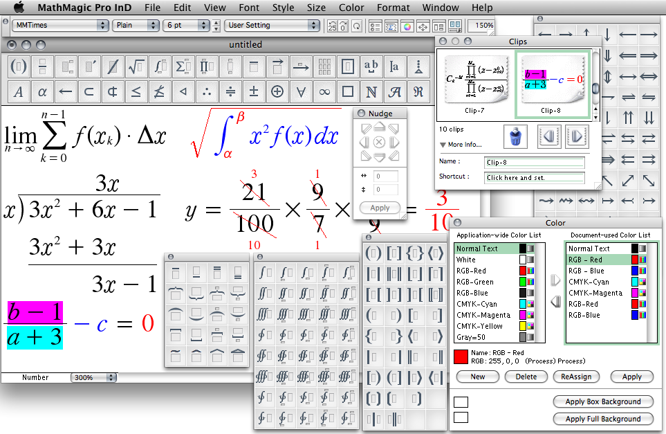 Math+Magic] - The ultimate Equation Editor for Adobe InDesign on the