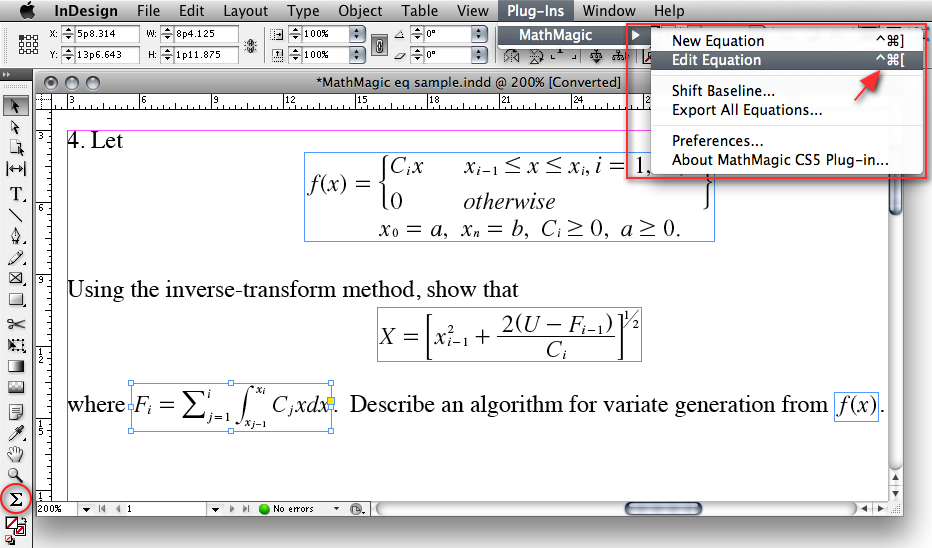 MathMagic Pro Edition for Mac OS X full screenshot